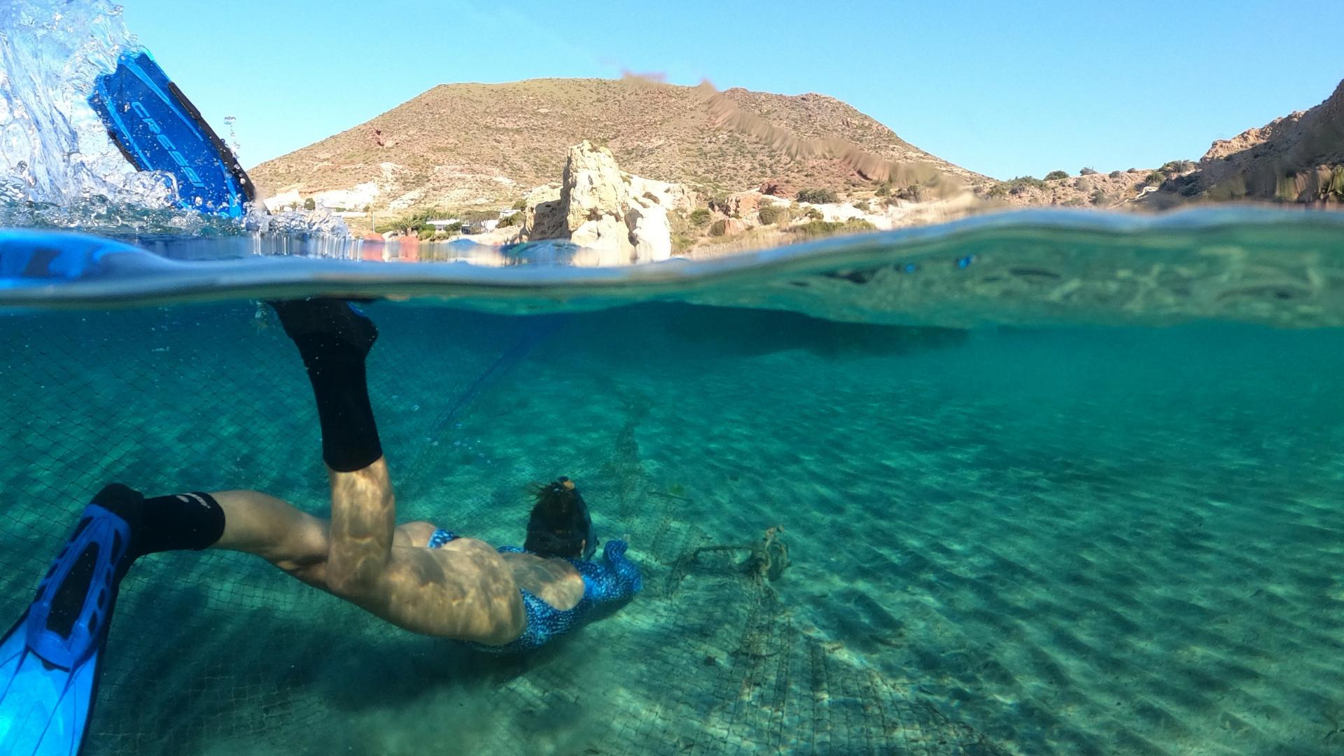 Snorkel Cala Higuera